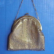 Vintage Whiting & Davis Gold Tone Mesh Purse Special Occasion Evening Bag  Photo