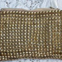 Vintage Whiting & Davis Heavy Gold Metal Mesh Chain Link Purse Photo