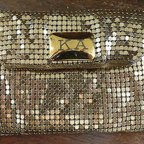 Vintage Whiting & Davis  Mesh Gold Ka Change Purse - Made in  Usa Photo