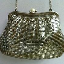 Vintage Whiting & Davis Silver Mesh Clutch/shoulder Evening Bag   1970s Photo