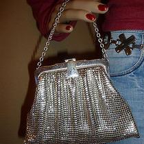 Vintage Whiting & Davis Silver Metal Mesh Handbag  Purse Photo