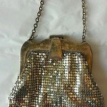 Vintage Whiting Davis Silver Metallic Metal Purse Photo
