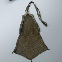 Vintage Whiting & Davis Sterling Silver Mesh Purse Photo
