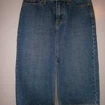 Vintage Womens Gap Jean Skirt Size 1 Photo