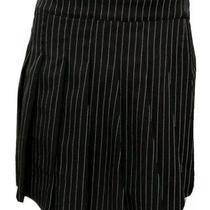 Vintage Womens Skirt Medium M Blush Retro Black Skort Cute Fall Excellent Deal Photo