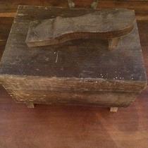 Vintage Wood Shoe Shine Box  Photo