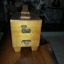 Vintage Wooden Shoe Shining Box Photo