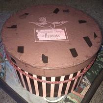 Vintage Woodward Shops at Hudson's Detroit Hat Box Photo