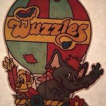 Vintage Wuzzles Iron-on T-Shirt Heat Transfer Animal Fantasy Cartoon Photo