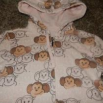 Vintage Xs Aero Aeropostale Monkey Hoodie Hooded Sweatshirt Full Zip Jacket Photo