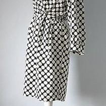 Vintage Yves Saint Laurent Silk Polka Dot Wrap Cocktail Dress Ysl Rive Gauche Photo