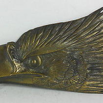 Vintagebrass American Eagle Head Belt Buckles Photo