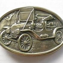 Vintange Avon Antique Car Belt Buckle Photo