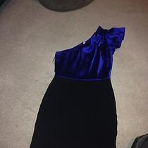 Violet One-Sleeve Date Night Dress Photo