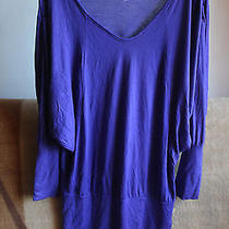 Violet Top Tunic  Blouse Urban Outfitters L Large M Medium Photo