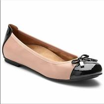Vionic Spark Minna Blush Black Cap Toe Ballet Slippers Sz 9.5 359minna Vs002 Photo