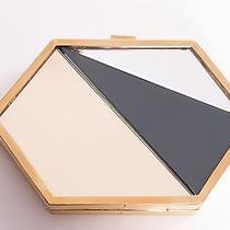 Vionnet Gold Mirrored Clutch Photo