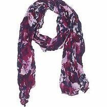 Vivante by Vsa Women Purple Scarf One Size Photo