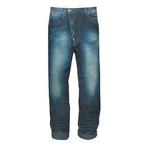 Vivienne Westwood Anglomania Asymmetric Skull Patch Drop Crotch Denim Jeans 28 Photo
