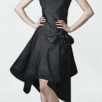 Vivienne Westwood Anglomania Dark Blue Taffeta Dress Size S Photo