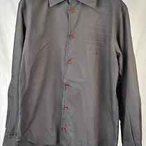 Vivienne Westwood Anglomania Grey Logo Heart Ls Button Shirt 46 Italy Photo