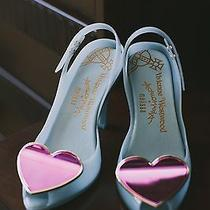 Vivienne Westwood Anglomania Lady Dragon Heart Shoes - Wedding 8 Photo