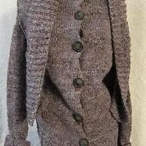 Vivienne Westwood Anglomania Nwot 535 Chunky Knit Cardigan Sweater - S - Wow Photo