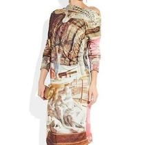 Vivienne Westwood Anglomania Printed Dress Uk8 Great Gift Photo