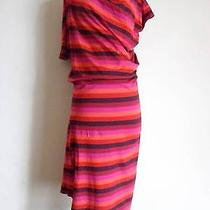 Vivienne Westwood Anglomania Stripy Dress Red Pink Orange Size S Photo