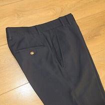 Vivienne Westwood Blue Wool Trouser Size Eu48 Photo