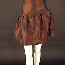 Vivienne Westwood-Burgundy Taffeta Skirt Size-8 Photo