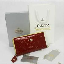 Vivienne Westwood Coin Purse Women's Wallets Long Wallet Red Yellow Vivian Photo
