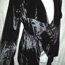 Vivienne Westwood Dramatic Black Velvet Jacket 12 6 1k Photo