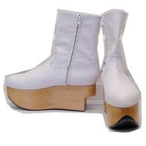 Vivienne Westwood Gold Label Rocking Horse Shoes Boots White Kid Leather Uk6 Photo