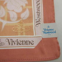 Vivienne Westwood Handkerchief / Mini Scarf Made & Licensed Japan 100% New C06 Photo