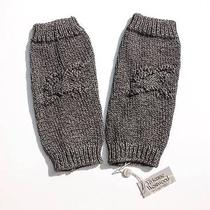 Vivienne Westwood Knitted Arm / Leg Warmers Dark Grey Rrp 145 Bnwt Gloves Photo