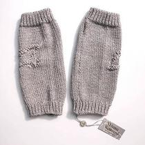 Vivienne Westwood Knitted Arm / Leg Warmers Light Grey Rrp 145 Bnwt Gloves Photo