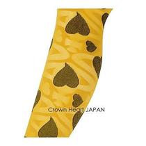 Vivienne Westwood License Yellow Pantyhose Stocking Tights Alice Orb Heart Japan Photo