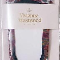 Vivienne Westwood Licensed in Japan Geometric Print W/orb Socks-23-24cm(l)-New Photo