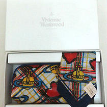 Vivienne Westwood Logo Handkerchief With Glasses Bag Box Set A Photo