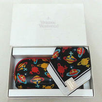 Vivienne Westwood Logo Handkerchief With Glasses Bag Box Set B Photo