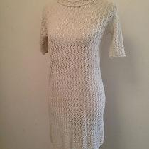 Vivienne Westwood London 80s Vintage Cream Crotchet Lace Mini Dress Small London Photo