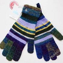 Vivienne Westwood Man Japan Made Wool Blend Knit Stripes Gloves-30cm(l)-A/b-Nwt Photo