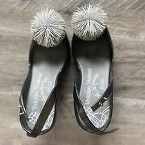 Vivienne Westwood Melissa Black Heels Size 5 Jelly  Photo