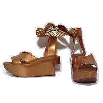 Vivienne Westwood Melissa Gold Wing Rocking Horse Sandals Us8 24.5 Photo