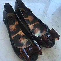 Vivienne Westwood  Melissa Jelly Bow Flats Shoes 6 Photo
