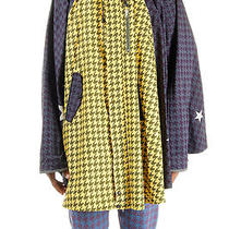 Vivienne Westwood Men Yellow Rainproof Wrap Jacket Optical Effect Italy Made Photo