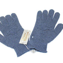 Vivienne Westwood Mens Winter Warm  Wool Blend Gloves Blue Medium Photo