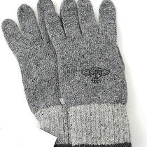 Vivienne Westwood Mens Winter Warm  Wool Blend Gloves Grey Small Photo