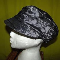 Vivienne Westwood Orb Baker Hat  Large Silver  Black  Silk Stunning Photo